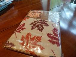 """HARVEST COLLECTION Tablecloth  60"""" X 84""""  100% Cotton  New"""