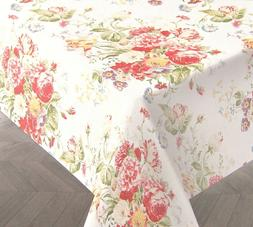 Ralph Lauren Tablecloth Antibes Floral Red 60 x 104 - NEW