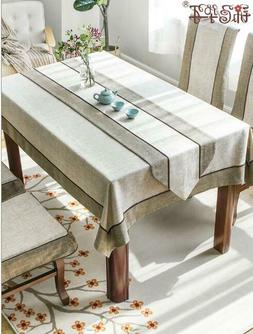 Tablecloth Chinese Style Cotton Linen Simple Coffee Table Cl