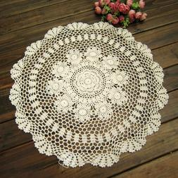 Tablecloth Doily Table Cloth Handmade Crochet Lace Cotton Co