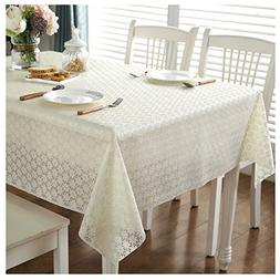 Freetophome Tablecloth Rectangle Double-Sided film Solid Pla