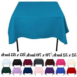 Tablecloth Table Cloth Square Cover Protector Buffet Polyest