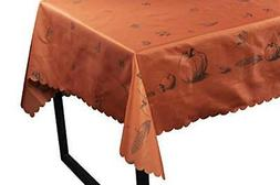 Thanksgiving Party Tablecloth - Rectangle Table Cloth  83 x