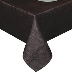 UFRIDAY Geometric Fabric Table Cover Water-Repellent Polyest