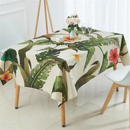 Tropical Plants <font><b>Table</b></font> <font><b>Cloth</b>