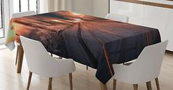 urban theme tablecloth 3 sizes rectangular table