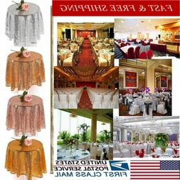 USA Sequin Table RunnersLong Table Cloth Party Wedding Event