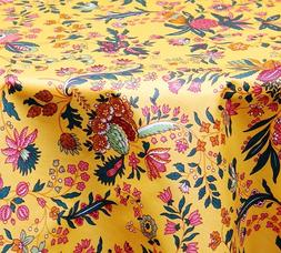 LE CLUNY, VERSAILLES PROVENCE YELLOW FRENCH COATED COTTON TA