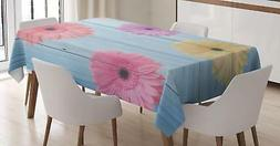 Vintage Colorful Tablecloth Ambesonne 3 Sizes Rectangular Ta