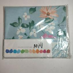 Vintage Vera Neumann Wildflowers 52x52 Inch Linen Table Clot