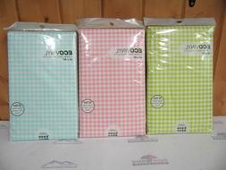 Vinyl Gingham Check Table Cloth ~ New ~ Free Shipping