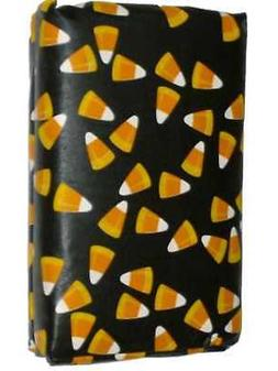 Tossed Candy Corn Vinyl Tablecloth Halloween Table Cloth 52x