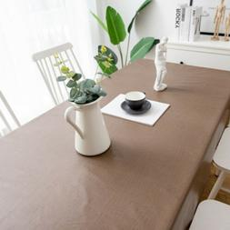 Waterproof Oil Proof PVC Table Cloth Cover Home Dining Kitch