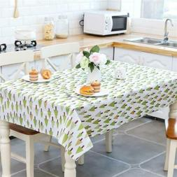Waterproof Oil Proof Table Cloth Cover Home Dining Kitchen T