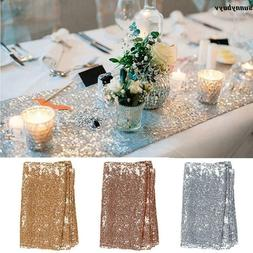 Wedding Table Cloth Glitter Sequin Tablecloth Party Engageme