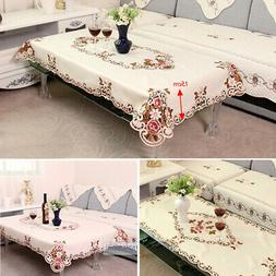 Wipe Clean Tablecloth European Table Cloth Cover Protector F